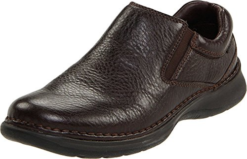 Hush Puppies Mens Lunar II Slip-On Loafer, Dark Brown, 41.5 EU/7.5 UK