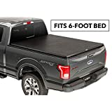 TruXedo 256801 TruXport Black Soft Roll-Up Tonneau Cover