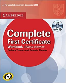 Book Complete First Certificate Workbook with Audio CD