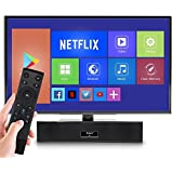 FAVI Ultimate Bluetooth Mini Soundbar For TV With Built-In WiFi Android 7.1 Media Streaming Player | Compact & Powerful Sound Bar For PC, Laptop | HQ Audio Quality | 1GB RAM & 8GB Storage | HDMI & USB