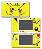 Pikachu Special Edition X Y Omega Ruby Alpha Sapphire Black and White Video Game Vinyl Decal Skin Sticker Cover for Nintendo DS Lite System