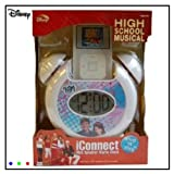 Disney High School Musical iConnect Mp3 Speaker Alarm Clock