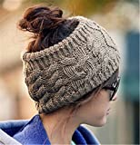 versatile Heyuni. Women's Versatile Wool Knit Crochet Twist Hair Band Headband Ear Warmer