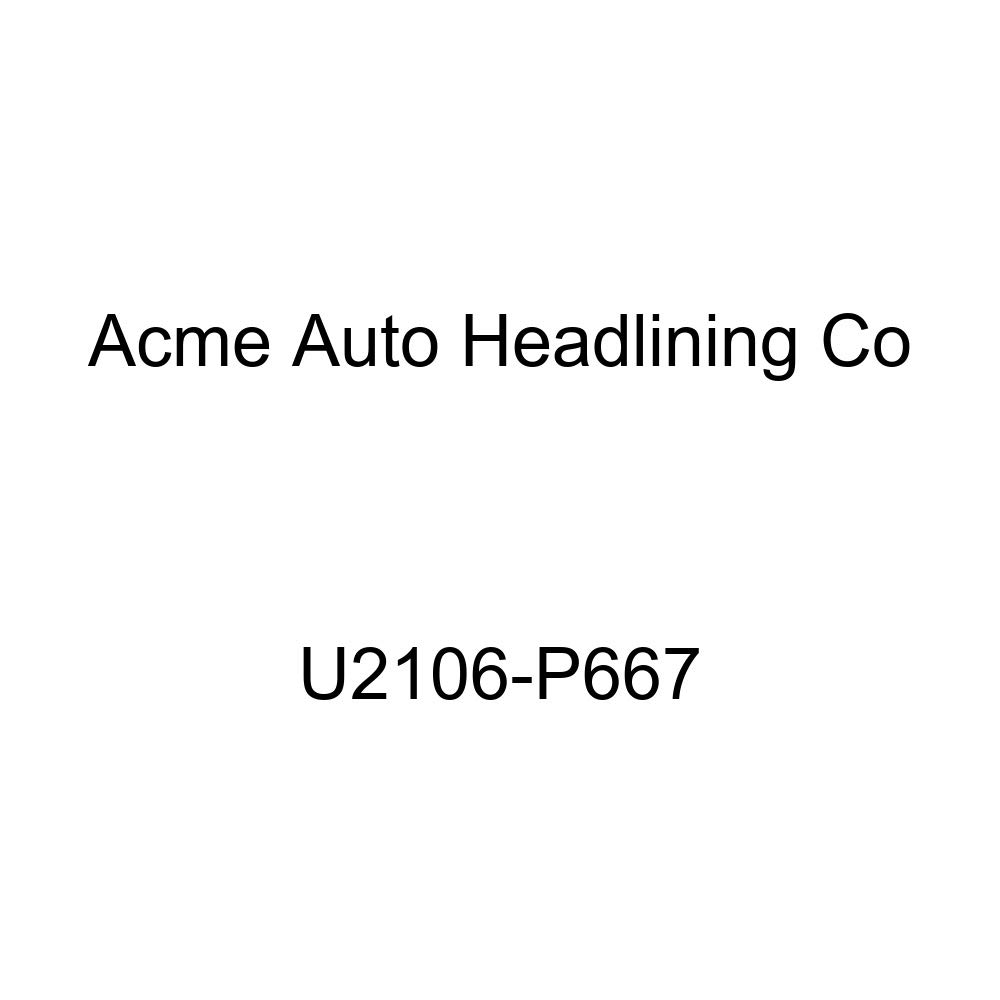 Acme U2106-P667 Front Black Velour Bench Seat Upholstery