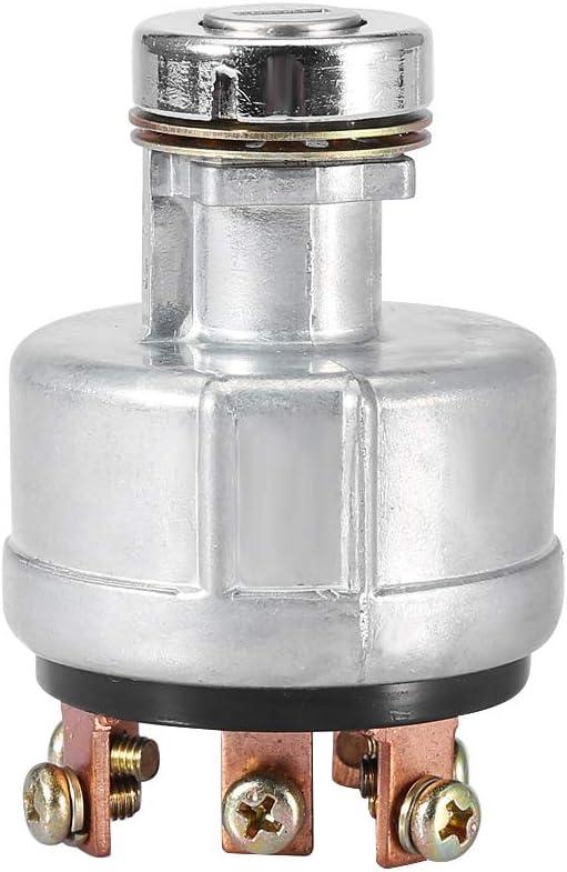 Interruptor de Encendido Interruptor de Arranque de Encendido Universal Samfox Con 6 Terminales Digger Digger 2 Teclas para Sk200-3 Sk200-5 Sk120-5