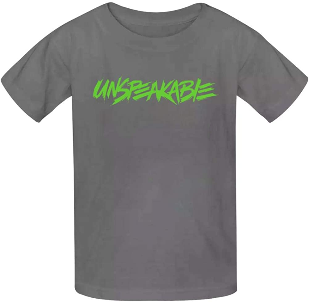 Dao/&Ping Unspeakable Gaming Green Kids T-Shirts Summer Cotton Slim-fit Youth 3D Printed Tee