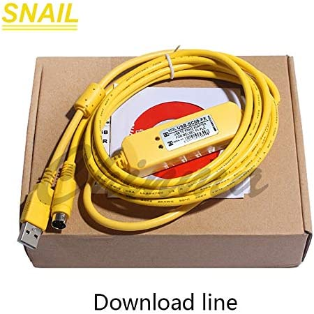 Tool Parts cable for Mitsubishi,FX1N FX2N FX1S FX3U series,plc programming cable download cable,usb-SC09-FX