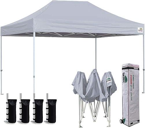 Eurmax 8 x 12 Ez Pop Up Canopy Party Tent Sport Outdoor Instant Canopie