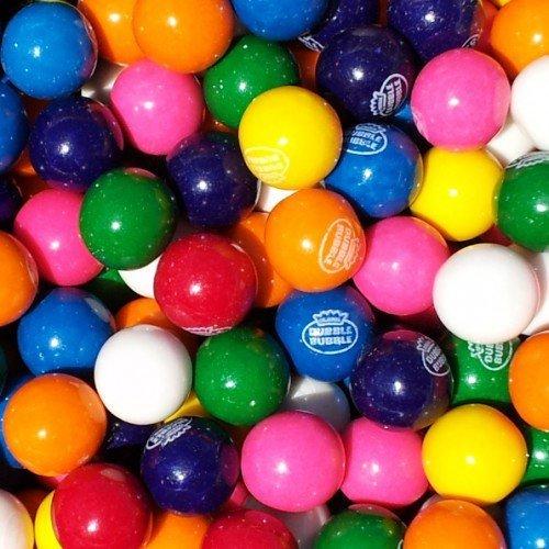 DUBBLE Bubble Assorted Gumballs 3 Pounds Bulk---(Bonus Surprise (Goodie Gumballs)