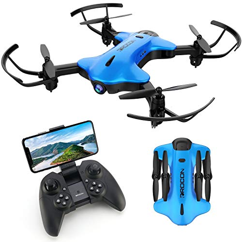 DROCON Ninja Drone for Kids with Camera 1080P FHD, FPV RC Drone for Beginners, Quadcopter Wi-Fi Drone with Altitude Hold…