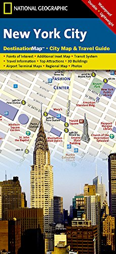 New York City (National Geographic Destination City - Map New City York