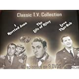 I MARRIED JOAN/THE LIFE OF RILEY/LOVE THAT BOB- CLASSIC T.V. COLLECTION-40 EPISODES ON 9 DVD BOXED SET w/ INTERACTIVE DVD MENUS