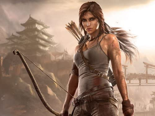 Amazon Com Dj3646 Tomb Raider 2013 Video Game Lara Croft Art