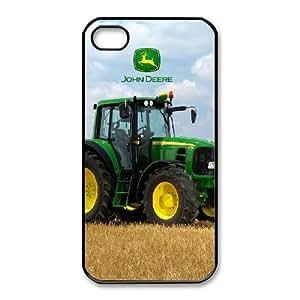iPhone 4,4S Phone Case Black John Deere DY7734964