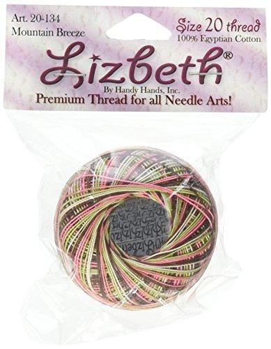 Handy Hands Lizbeth Cordonnet Cotton Size 20-Mountain Breeze (Lizbeth Cordonnet Cotton Cord)