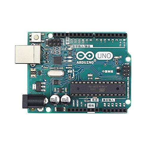 Amazon.com: Oficial Original Arduino UNO R3 microcontrolador ...