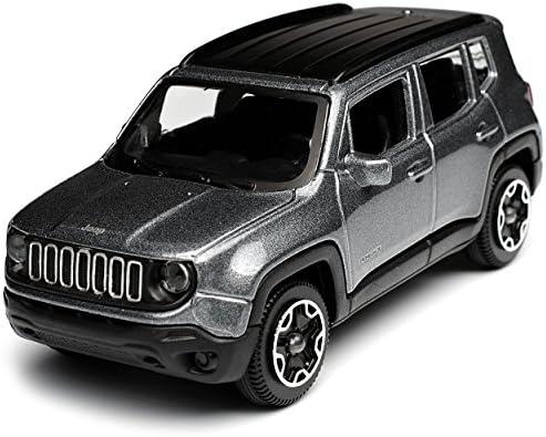 Bburago Jeep Renegade Suv Grau Ab 2014 1 43 Modell Auto Mit Oder Ohne Individiuellem Wunschkennzeichen Spielzeug