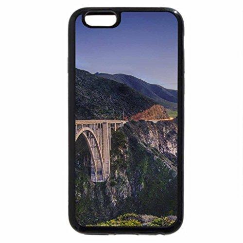 iPhone 6S / iPhone 6 Case (Black) bixby bridge in notleys landing california