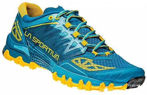 La Sportiva W Bushido - Fjord - EU 38.5 / UK 5.5 / US 7.5 - Technischer Herren FriXion Trail-Running Schuh