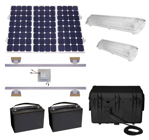 Shed Solar Lighting System