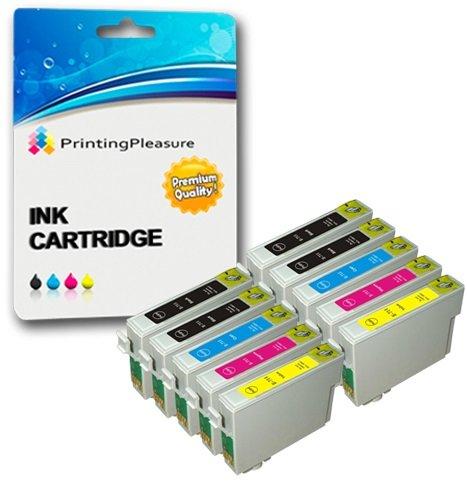 46 opinioni per Printing Pleasure KIT 10x T0715 Cartucce d'inchiostro compatibili per Epson