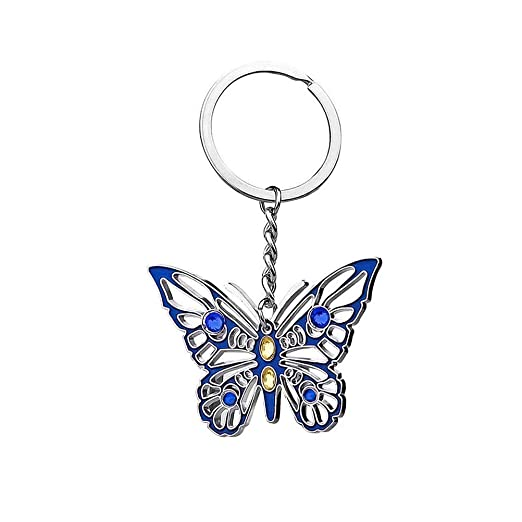 Amazon.com  Aoneky Metal Girls Butterfly Keychain  Clothing 49d19ec265a0