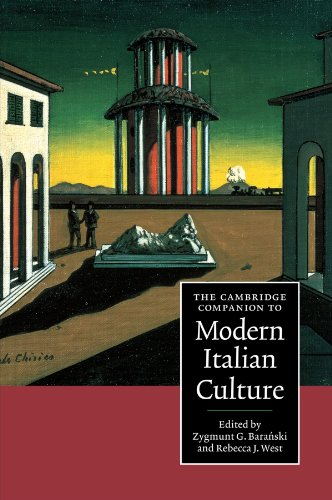 The Cambridge Companion to Modern Italian Culture (Cambridge Companions to Culture)