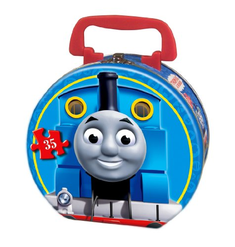 (Thomas & Friends Carnival at Night 35-Piece Puzzle in a Round Tin)
