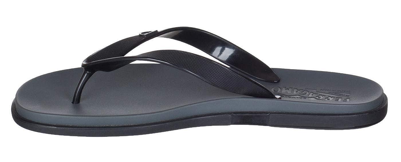 61111e2d71d0 Salvatore Ferragamo Guinea Sandal Nero Men s Sandals  Amazon.ca  Shoes    Handbags