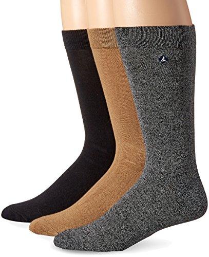 's Marl Crew 3 Pk, Black/Griffin, Sock Size: 10-13/Shoe Size:9-11 ()