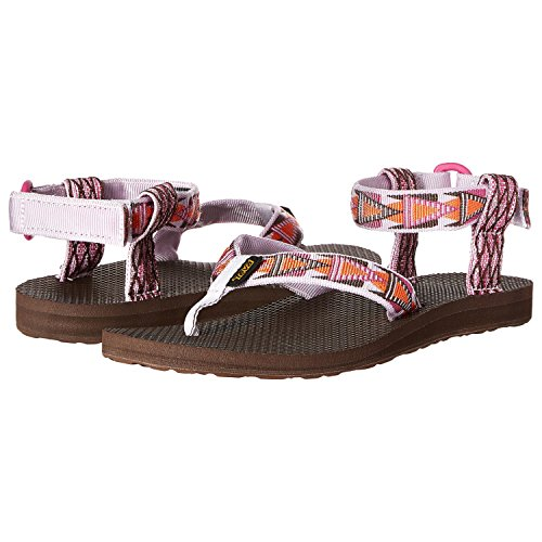 Teva Women's Original Sandal, Mashup Orchid, 7 M (Athletic Thong Sandals)