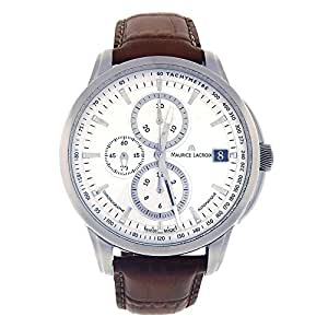 Maurice Lacroix Pontos automatic-self-wind mens Watch PT6128-SS001-130 (Certified Pre-owned)