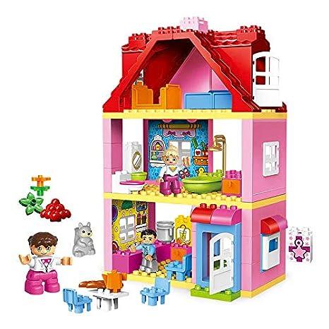 Buy Generic Fashion Doll House Set Big Building Blocks Diy Furniture