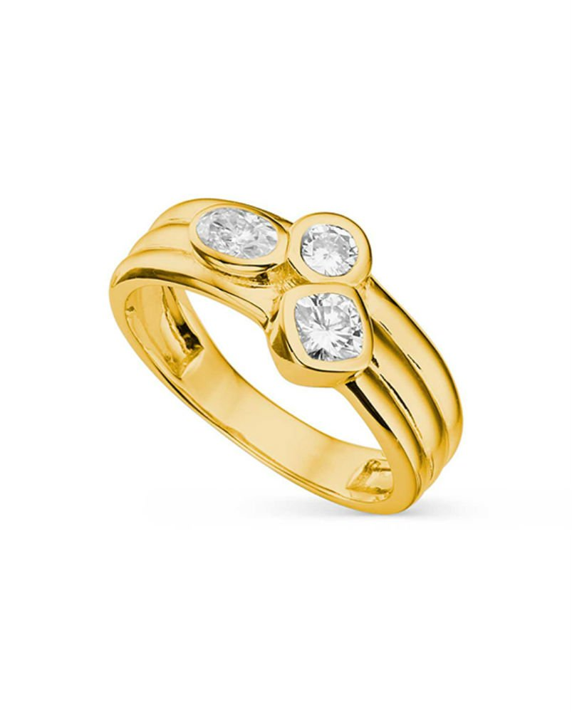 Forever Classic Cushion 4.0mm Moissanite Ring-size 7, 0.69cttw DEW By Charles & Colvard