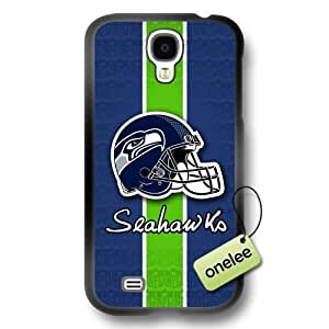 NFL Seattle Seahawks Logo Diy For Touch 4 Case Cover Black PC(Hard) Soft - Black