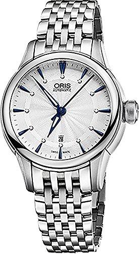 Oris-Artelier-Date-Diamonds-Womens-Watch