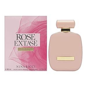 Nina Ricci Rose Extase Eau de Toilette, 2.7 Ounce