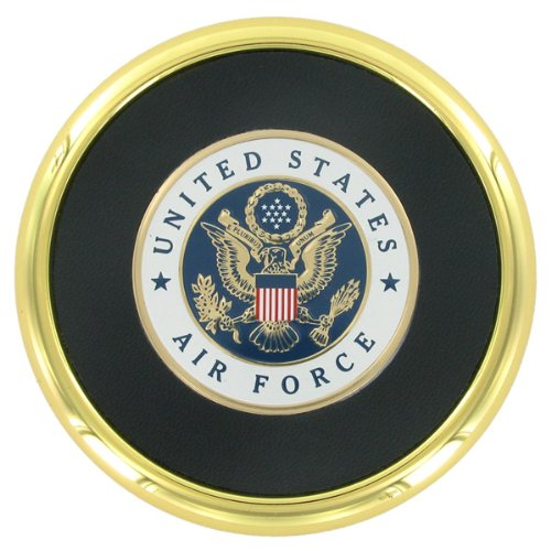 Metal Coaster with U.S. Air Force Logo - Air Coaster Force
