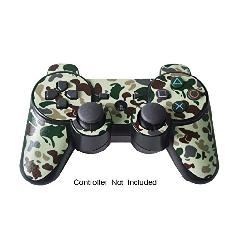 Skin Stickers for Playstation 3 Controller – Vinyl Leather Texture Sticker for DualShock 3 Wireless Game Controllers…