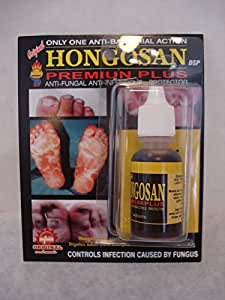 Hongosan - 2 Liquid Hongosan Premium Plus Antifungal Feet Nails Fungus. -