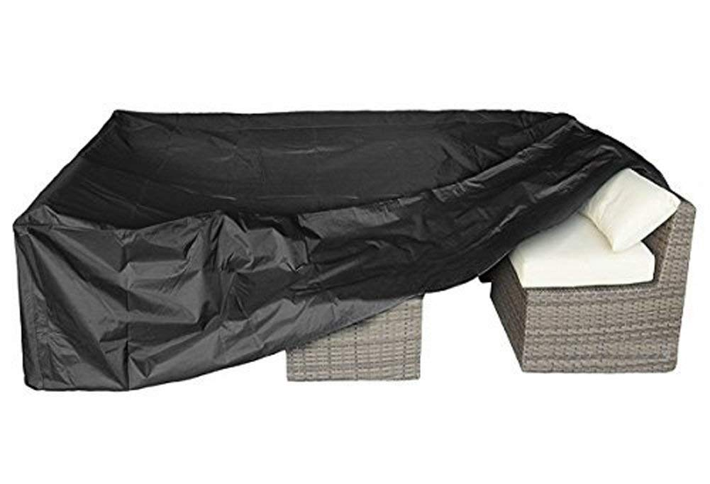 "Patio Furniture Set Cover Outdoor Sectional Sofa Set Covers Outdoor Table and Chair Set Covers Water Resistant Large 126"" L x 63"" W x 28"" H"