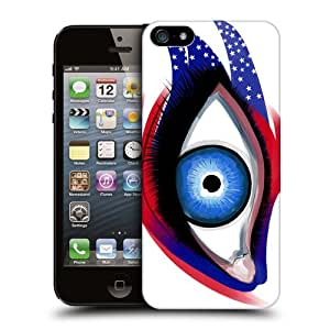Head Case Designs Usa Eyes Flag Inspired Back Case For Apple iPhone 5 5s