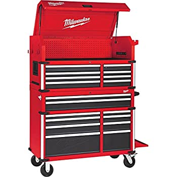 Amazon Com Milwaukee 46 In 18 Drawer Tool Chest And