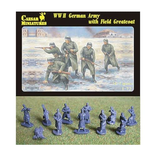 Caesar Miniatures H069 – Figura WWII German Army with Field greatcoat