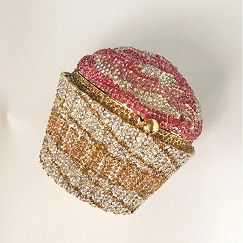 à Soirée Cosmétiques Des Femmes Pink Sac Sac Diamant De Sac à Main Zwx7Iq7Y0