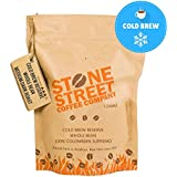 Stone Street Coffee Cold Brew Reserve Colombian Supremo Whole Bean Coffee - 1 lb. Bag - Medium Dark Roast