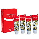 Colgate Cavity Protection Fluoride Toothpaste for Kids 2.5 Fl Oz/75 ml - 4 Pk (Flight Friendly - Travel Pack)