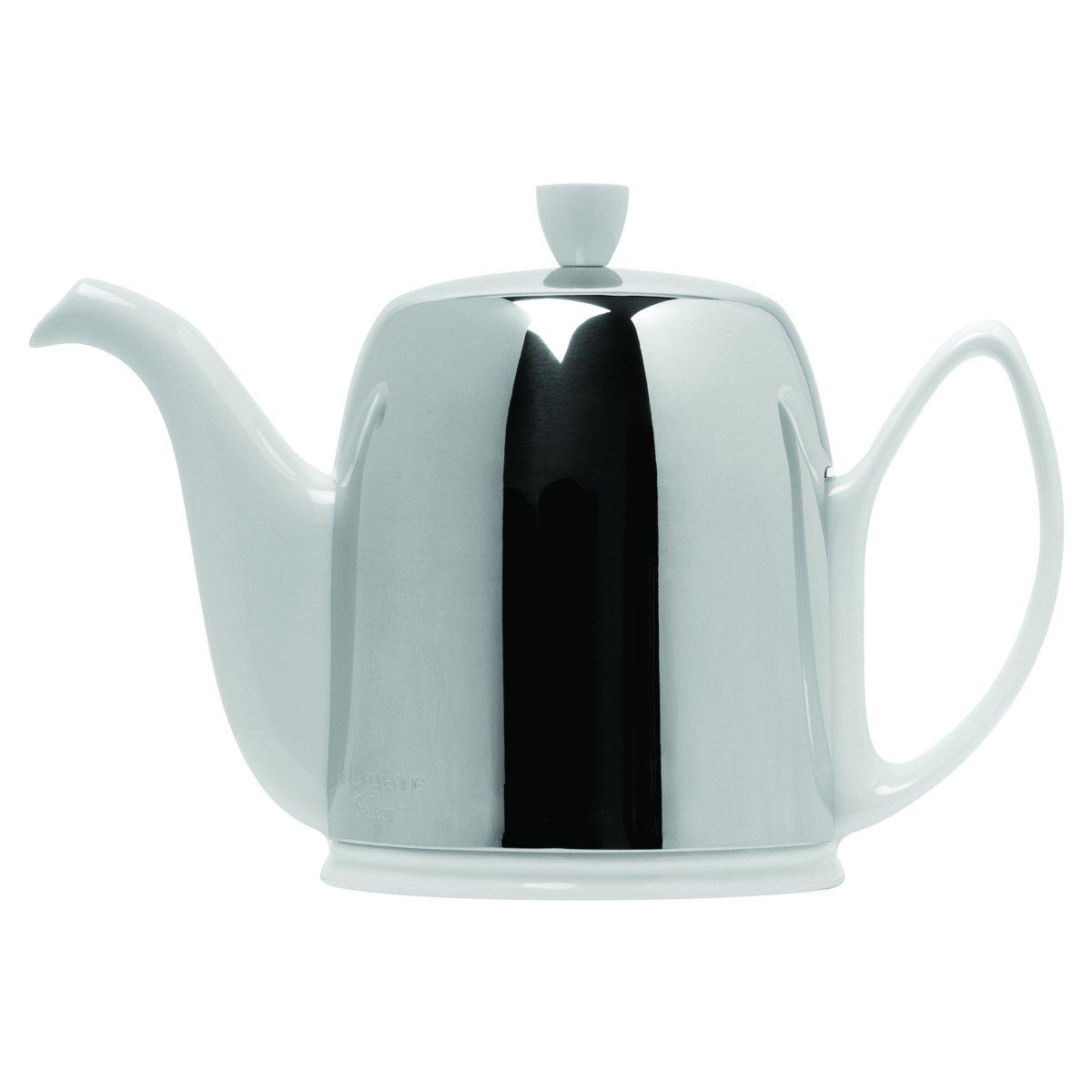 DEGRENNE -  SALAM WHITE Tea Pot 8 Cups, 43 oz 15/16