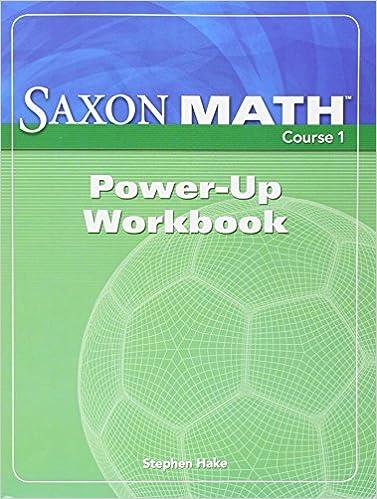 Saxon math course 1 power up workbook course 1 2 3 saxon saxon math course 1 power up workbook course 1 2 3 1st edition fandeluxe Gallery