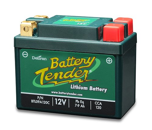 12V Lithium Motorcycle Battery - 6